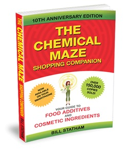 Low-tox Living | The Chemical Maze - Shopping Companion book | Bill Statham